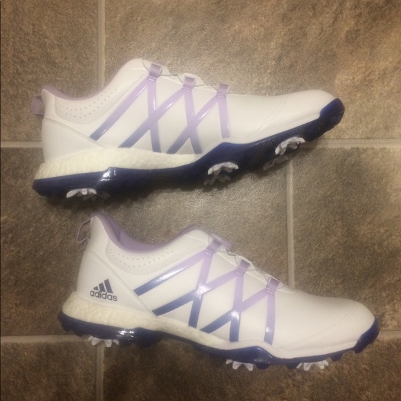 competitive price 7b4db 82367 Adidas Womens W Adipower Boost BOA Golf Shoes